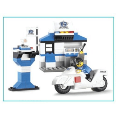 Special Police – City Police Station 86pcs