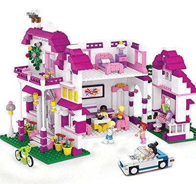 Includes 6 x characters. 726 pieces. Compatible with all major brands.