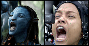 Avatar real character animated