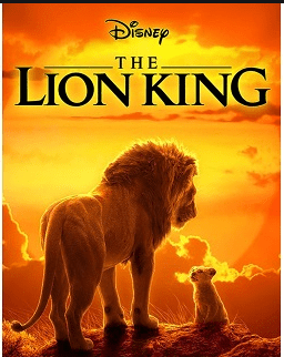 The lion king animated movie from grahics