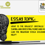 The Nigerian Stock Exchange (NSE) Essay Competition.