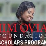 Apply Here for Jim Ovia Scholarship – Only for Nigerian Students