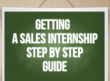 sales internship