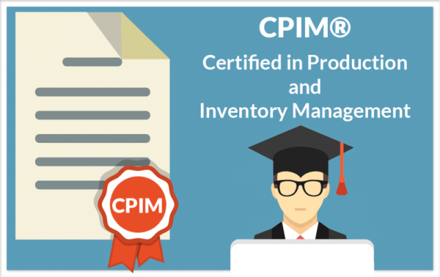Certified in Production and Inventory Management