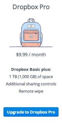 Plans - Dropbox