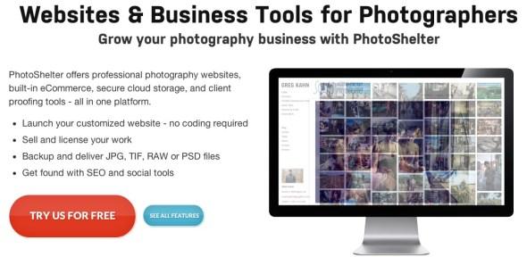The best photography websites - Photo hosting - Sell photography | PhotoShelter