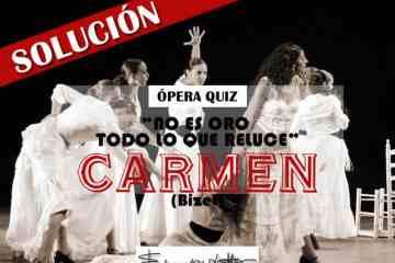 Carmen, Bizet
