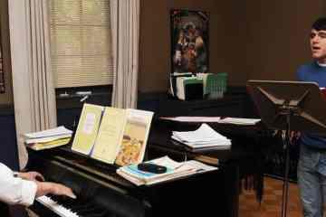 Notas, letra, partitura