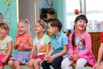 Teatro amateur, público infantil