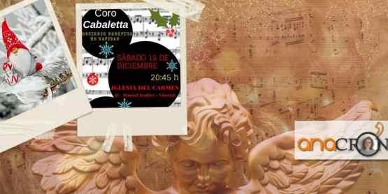 Navidad, concierto benéfico, Coro Cabaletta, Anacrónica