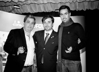 Eduardo Pimenta, Marques Pinto e André Boto