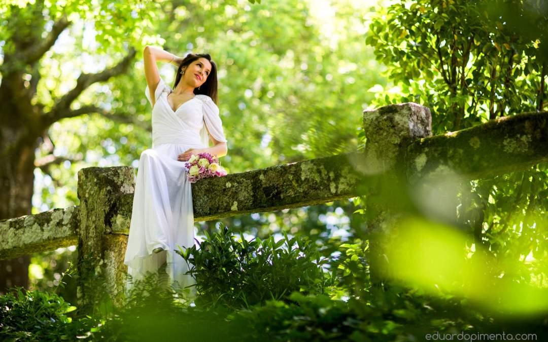 A natureza inspiradora para um fotógrafo de casamentos