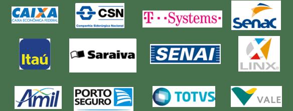 Empresas que treinaram equipes com Eduardo Pires