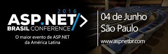 ASP.NET Brasil Conference 2016