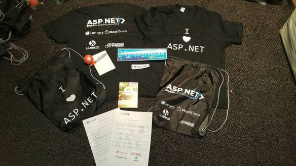ASP.NET Brasil Conference 2016 - Brindes para os participantes