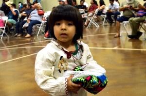 Niño de origen P'urhepecha, en Farmersville, California. (Foto: Eduardo Stanley)