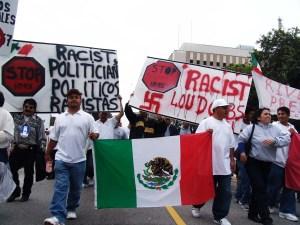 Miles de inmigrantes marcharon en Los Angeles en 2006 exigiendo una reforma migratoria (Foto: Eduardo Stanley)