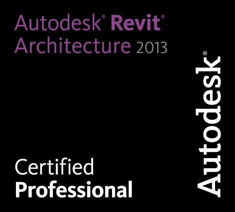 Eduardo Blanco Castrejón - Autodesk Revit Architecture 2013 Certified Professional Logo