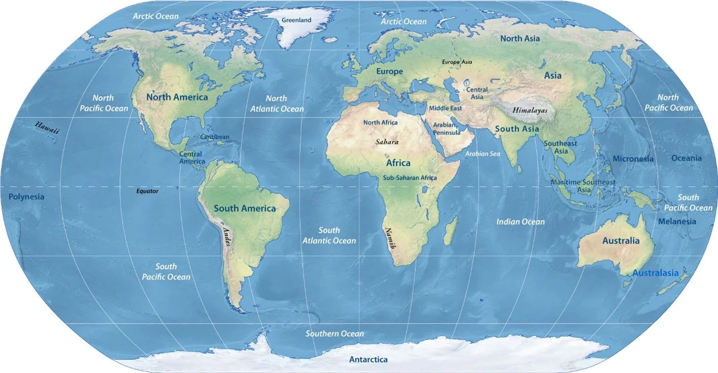 hight resolution of Free Reading Comprehension Worksheet: Planet Earth's Seven Continents -  Edublox Online Tutor   Development