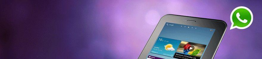 Whatsapp en Galaxy Tab 2 ¡Sin complicaciones!