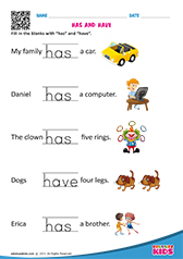 Free Printable Grammar Worksheets For Pre K Amp Kindergarten