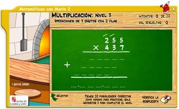 Matemáticas con Mario 2