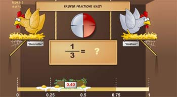 Recurso Chicken Coop Fraction Games