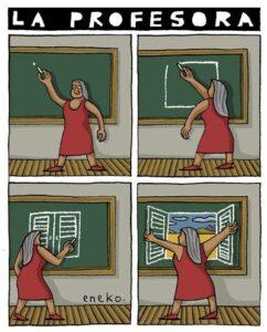 profesora Eneko