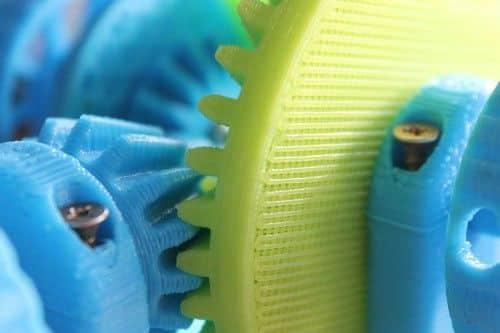 Piezas hechas con impresoras 3D