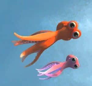 short animation - Oktapodi