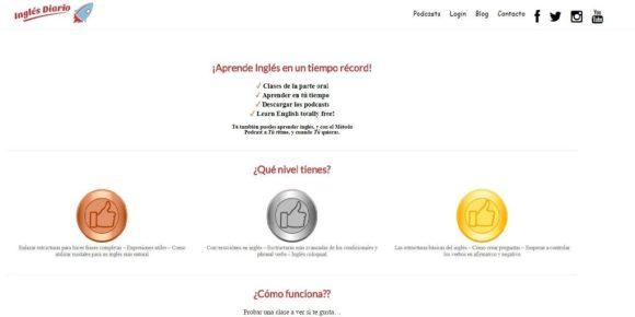 Cursos de inglés online diario