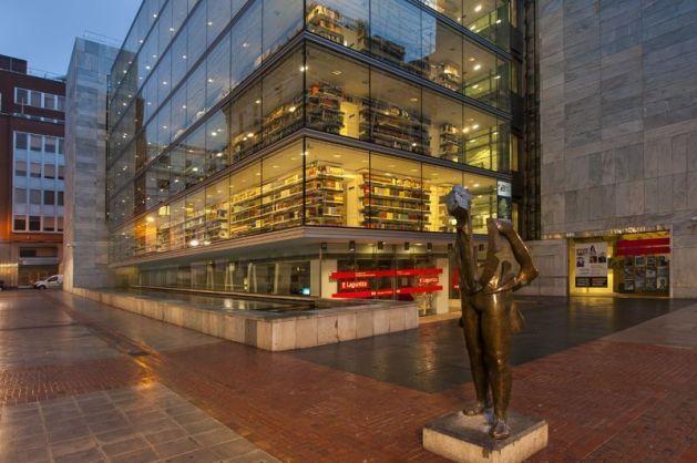 Biblioteca Foral de Bilbao bibliotecas para visitar en familia
