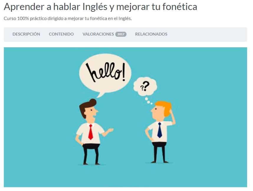 Aprende a hablar en inglés y mejora tu fonética