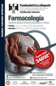 Certificación Farmacología Deportiva (2 sesiones) @ Panteones Deportivas