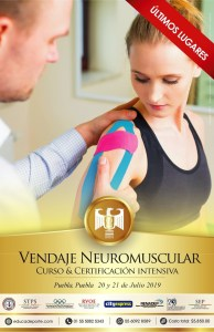 Curso & Certificación Intensiva Vendaje Neuromuscular @ City Express, Puebla Centro