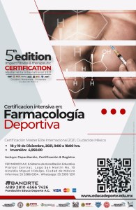 Certificación Farmacologia Deportiva