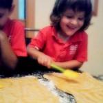 Receta exprés con niños: palmeritas de hojaldre