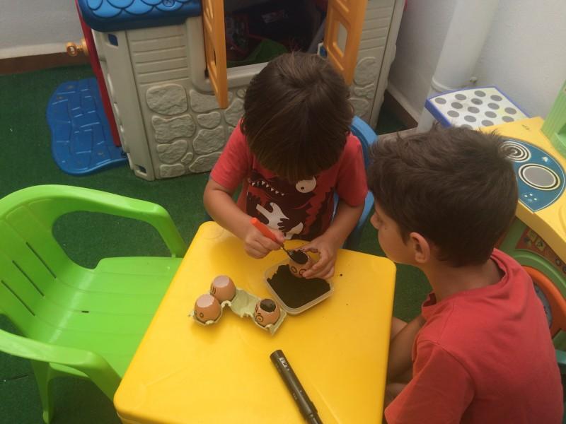 huevos-con-semillas-poner-sustrato-niños