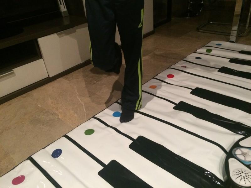 Piano de suelo electrónico Big mat Piano Conservatory