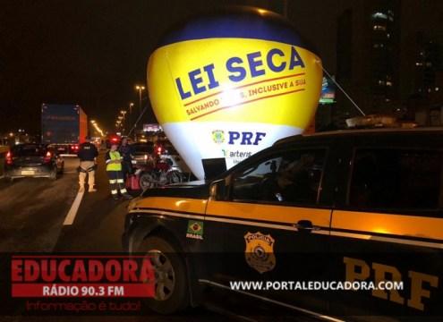 PRF flagra 126 motoristas embriagados no fim de semana em SC