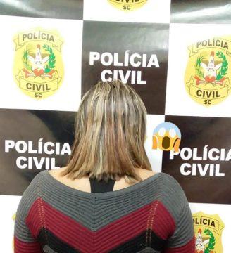 Mulher que usava o filho de 10 anos para distribuir drogas é presa, em SC