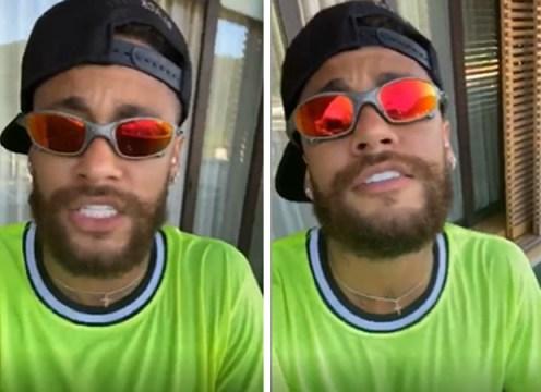"""Neymar 'estreia' como funkeiro na quarentena: """"MC NJ"""""""