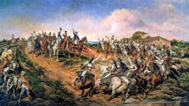 O quadro de Pedro Américo chamado