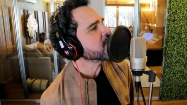 Luciano revelou sonho de cantar música gospel (Foto: Reprodução/Globo)