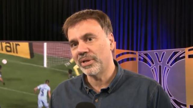 Mauro Beting é um dos comentaristas da Libertadores (Foto: Reprodução/SBT)