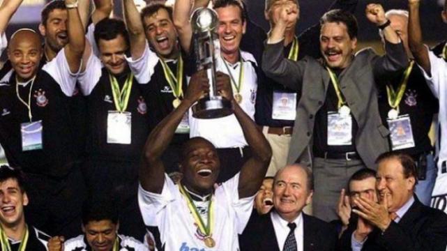 Corinthians foi o campeão de 2000