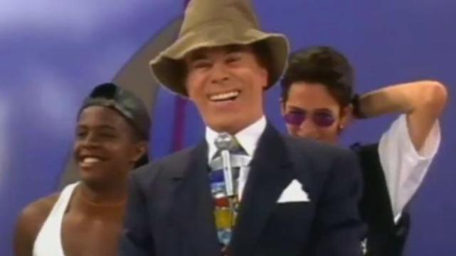 Silvio Santos em 1995 (Foto: Reprodução/SBT)