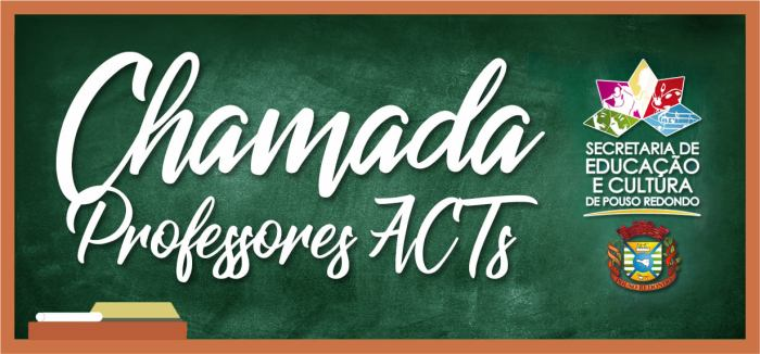 Secretaria de Educação de Pouso Redondo realiza Chamada de Professores ACT's