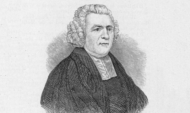 "John Newton, clérigo e poeta religioso inglês, autor do popular hino ""Amazing Grace"" (Foto: Arquivo Hulton / Imagens Getty)"