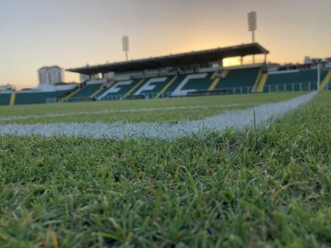 Estádio Orlando Scarpelli receberá jogo de ida entre Figueirense e Chape (Foto: Patrick Floriani / Figueirense FC)